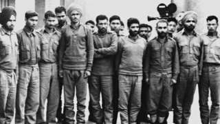 1971 డిసెంబర్లో పాకిస్తాన్ పట్టుకున్న భారత సైనికులు