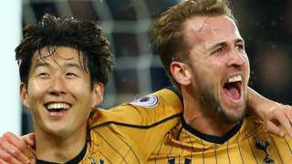 Son and Harry Kane