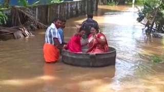 အိန္ဒိယ၊ ရေကြီး၊ မင်္ဂလာမောင်နှံ