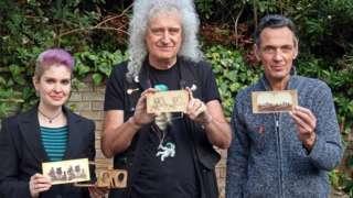 Brian May, Rebecca Sharpe, Denis Pellerin