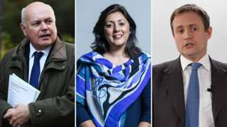 Iain Duncan Smith, Nusrat Ghani and Tom Tugendhat have been banned from entering China