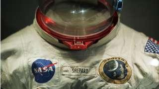 우주 비행사 앨런 셰퍼드가 착용했던 우주복