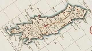 1777 Isle of Man map