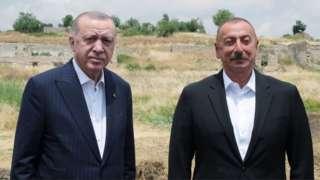 Озарбайжон ва Туркия президентлари