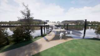 Llanelli wellness centre artist's impression