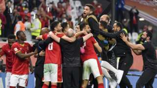 Al Ahly celebrate securing third-place play-off
