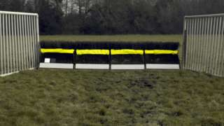 New colours for hurdles which will be trialled