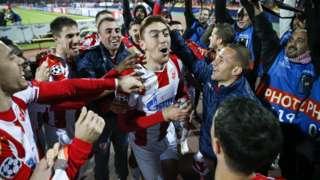 PSV celebrate