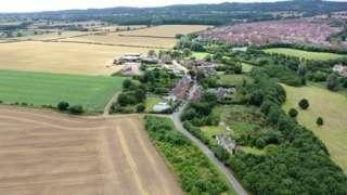 Aerial view of Woodthorpe