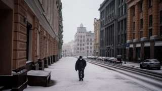 Москва в карантине