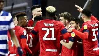 Wales international Kieffer Moore hit his fourth goal in Wigan's last five away games