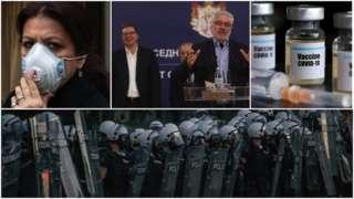 Korona virus, maske, vakcine, migranti i protesti: Dezinformacije i lažne vesti u Srbiji u 2020.