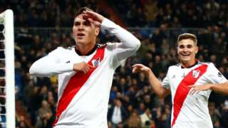 River Plate celebrate