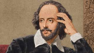 English dramatist and poet William Shakespeare (1564 - 1616)