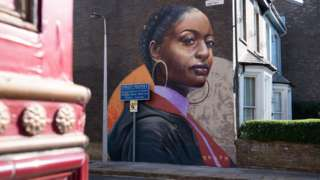 EastEnders mural by Dreph