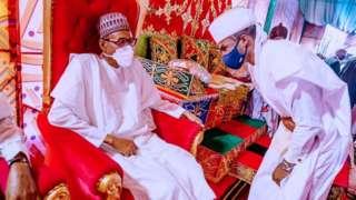 Yusuf Buhari and Zahra Bayero wedding fotos