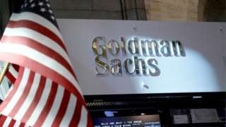 Goldman Sachs stall on NYSE floor
