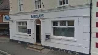 Banc Barclays, Llanymddyfri