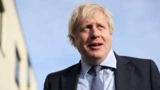 Le Premier ministre Boris Johnson