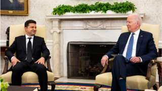 Zelensky and Biden