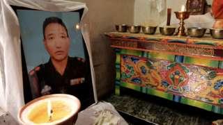 尼瑪丹增(Nyima Tenzin)遺像