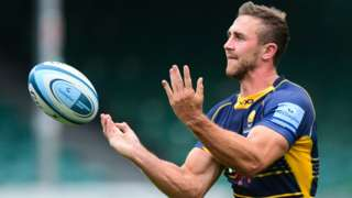 Ashley Beck in action for Worcester Warriors