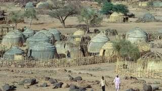 A village in Tahoua, Niger - generic shot