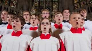 Regensburger Domspatzen choir - archive pic
