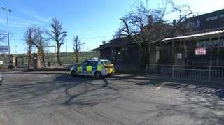 Shot of the school today