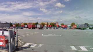 Hodgkinson lorry park