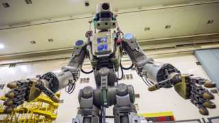 Russian robot Fedor