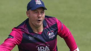 Adam Rossington in action for Northants