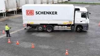 DB Schenker lorry