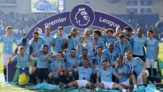 Manchester City ta lashe Kofin Premier, FA, Kofin League a bara