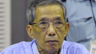 康克由(杜赫同志)在金边柬埔寨法院特别法庭出庭(17/2/2009)