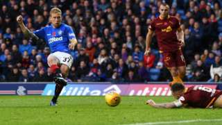 Scott Arfield fires Rangers in front
