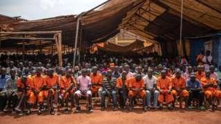 Imfungwa mu Rwanda