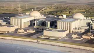 Artist's impression of Hinkley Point C plant