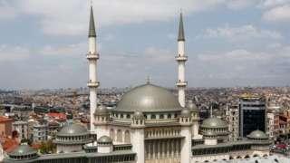 تقسیم سکوائر کی مسجد