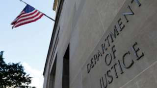 Justice Department building in ~Washington (file picture)