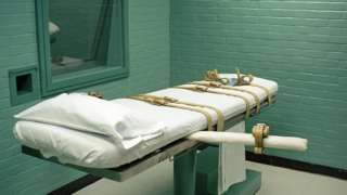 Fie photo - Huntsville Prison lethal injection room