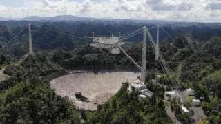 Arecibo 305m-telescope