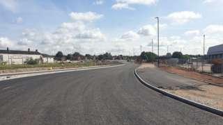A52 Wyvern Way slip road