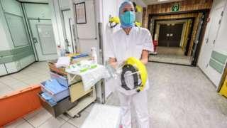 Medical staff in Liege