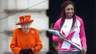 Kadeena Cox and the Queen