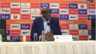 Caf interim president, Constant Omari