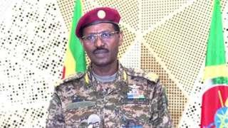 Taliyaha guud ee militariga dalka Itoobiya janaraal Berhanu Jula