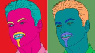 George Michael portraits by Michael Craig-Martin