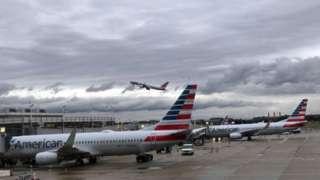 طائرة ركاب تابعة لشركة American Airlines