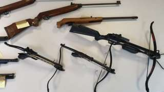 Firearms from Wombourne